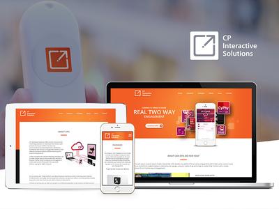 CP Interactive Solutions branding web design bluetooth cpis
