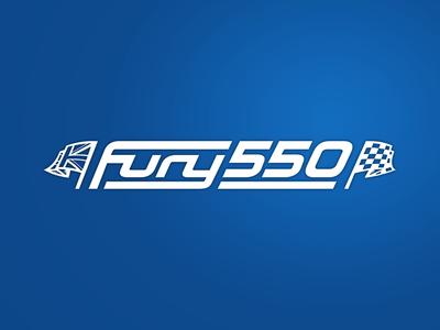 Fury 550 car race car logo 550 fury