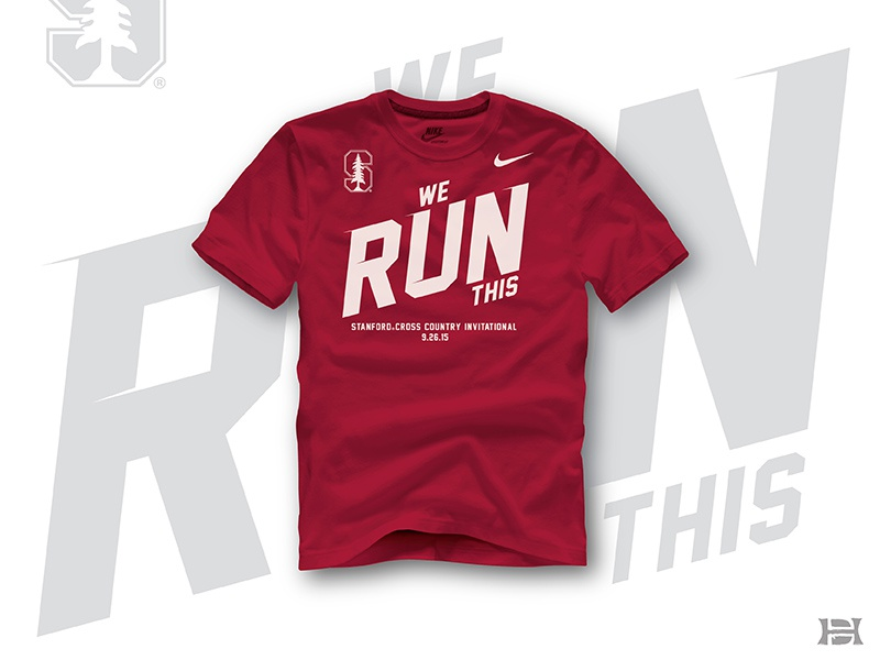 2015 Stanford Xc Invitational By Deidre Hayden Dribbble Dribbble