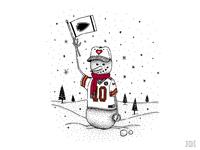 Kansas City Snowman
