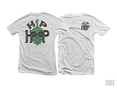 Hip Hop T-Shirt craft beer hip hop merch party drinking hop beer tshirt apparel