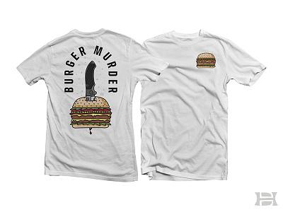 Burger Murder foodies knife cheeseburger burger food tshirt apparel