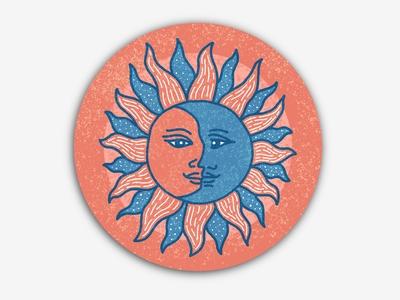 Sun moon coaster!