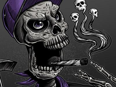 Skull Smoke