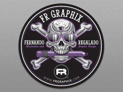 Self-Promotional Sticker Design