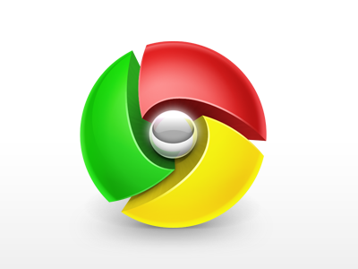 Free Chrome Icon chrome icon sphere red green yellow icns browser google