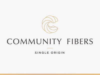 Community Fibers Logo logo