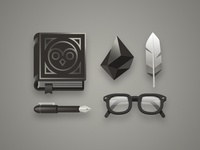 Character Kit 001: Naturalist Wizard