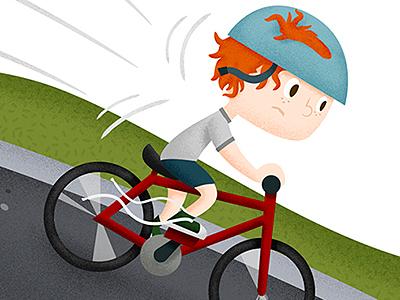 Halfway Herbert cartoon illustration childrens book