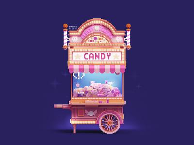 Tooth fairies control the gashapon candy business ! gummy gumball sweet amusement luna park gumball machine teeth tooth fairy fairytale theme park amusement park claw machine cube 3d magicavoxel voxelart video game art voxel gashapon candy