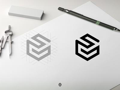SG monogram logo concept graphic design luxurydesign logobrand logoconcept consulting vector illustration branding monogram logo letter initials design sglogo