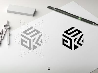 aKS monogram logo concept luxurydesign logopedia logoinspire logogrid logobrand profesionallogo logomark logopromotion graphic design branding monogram logo letter initials design aks monogram