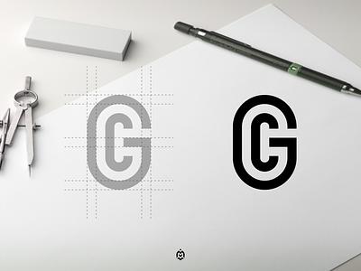 GC monogram logo concept graphic design logopromotion profesionallogo thirtylogos logogrid logopassions logoinspire logoconcept beautifullogo logomark design letter logo branding monogram initials gc logo