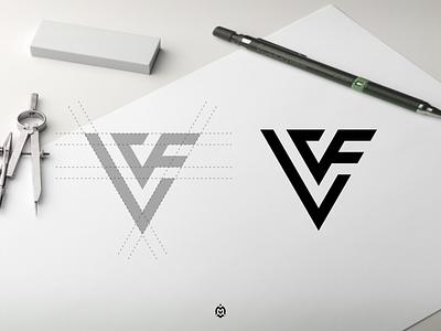 LVF monogram logo concept luxurydesign apparel jasabikinlogo monogramlogodesign consulting dubai logodaily logogrid logoprofesional logoinspire graphic design design letter branding monogram initials lvf logo