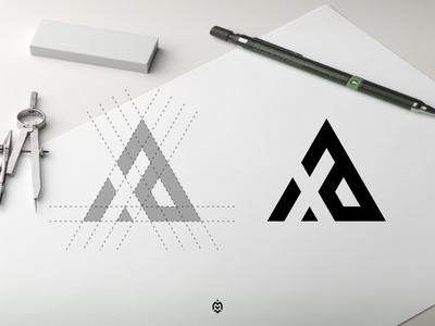 xa monogram logo concept apparel logobranding logonew logodaily branddesigner logogrid logoprocess dubai logoprofesional logoinspire graphic design logo design letter monogram initials ea logo