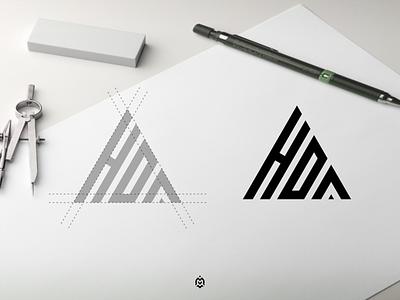 HDA monogram logo concept luxurydesign apparel jasabikinlogo consulting dubai logogrid ogoideas identity logoinspirations logoprofesional logoinspire logos graphic design logo letter initials monogram hda logo