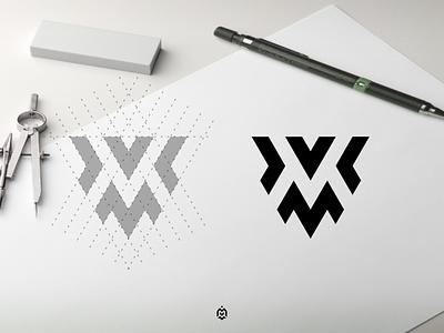 MV monogram logo concept graphic design jasabikinlogo monogramlogodesign consulting logoconcept dubai learnlogodesign logoprocess identity logoinspirations logoprofesional logodesinger logoinspire logos mv logo