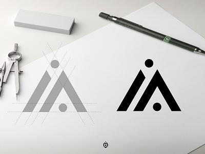 iA monogram logo concept graphic design luxurydesign apparel jasabikinlogo monogramlogodesign consulting creativelogo logoconcept dubai logoideas identity logoroom logoinspirations logoprofesional logodesinger logoinspire logos logo