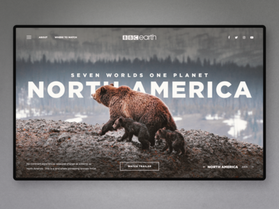 North America - Documentary Series Landing Page