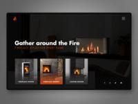 Fireplace UI concept