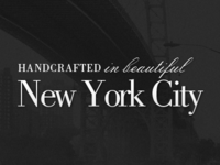 Handcrafted - New York City