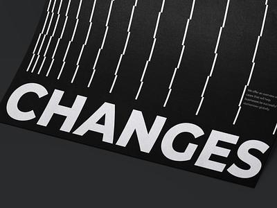 Poster TECHIIA Identity grid poster ui flat identity branding minimal design typography