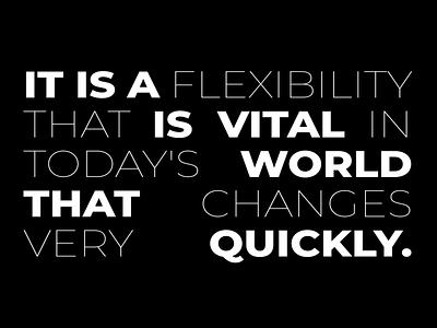 TECHIIA identity. Animated typography motion identity font ui minimal agency brand design animation branding typography design