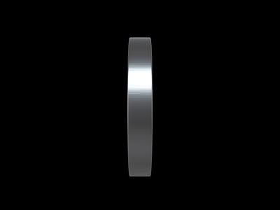 TECHIIA Clock Animation 3d time black and white motion animation minimal logo identity branding ui design clock