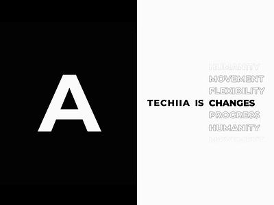 TECHIIA is... motion animation ui mobile design minimal branding