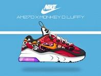 nike270 X Monkey D Luffy