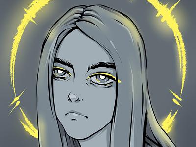 Billie Eilish or..? illustration