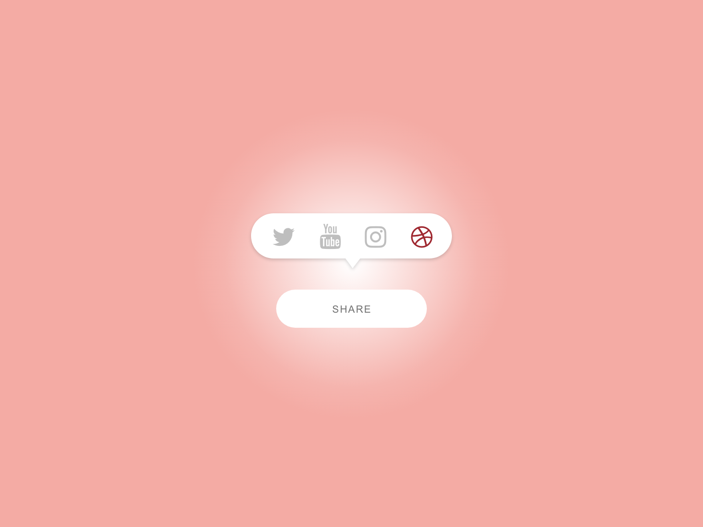 Daily UI Challenge #010 Social Share button design buttons icon sns 010 share share button design app ui dailyui