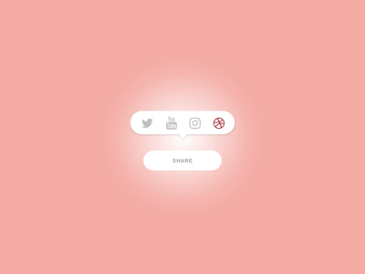 Daily UI Challenge #010 Social Share