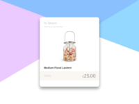 Daily UI Challenge #017 Email Receipt