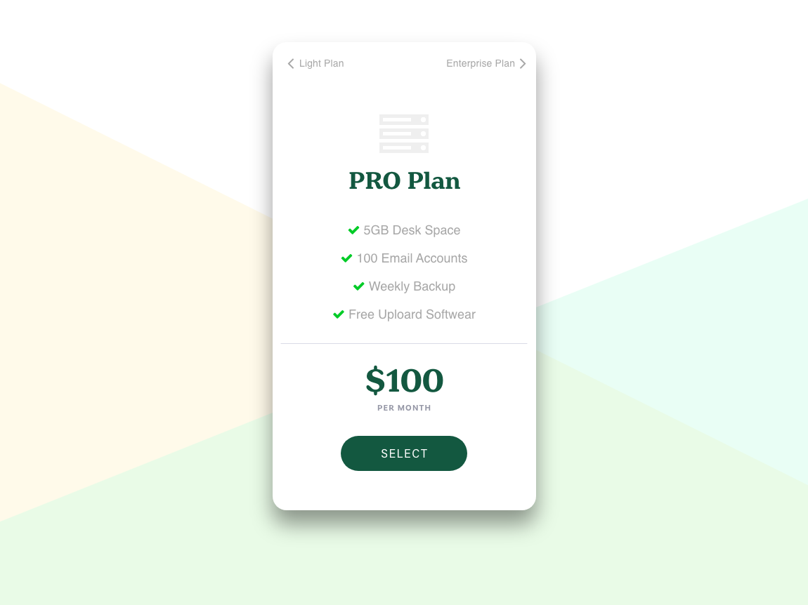 Daily UI Challenge #030 Pricing daily challange daily 100 daily 100 challenge mobile design app ui pricing page pricing plan pricing day030 dailyui