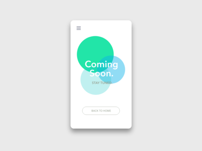 Daily UI Challenge #048 Coming Soon