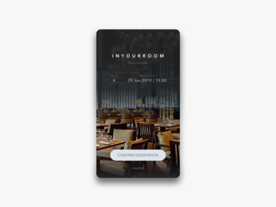 Daily UI Challenge #054 Confirmation