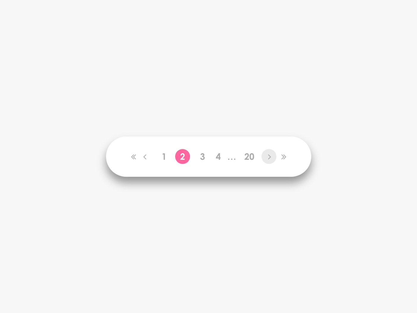 Daily UI Challenge #085 Pagination daily ui daily challange daily 100 daily 100 challenge mobile design app ui navigation paging pages pagination day085 dailyui