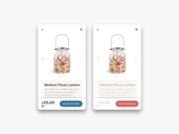 Daily UI Challenge #096 Currently In-Stock