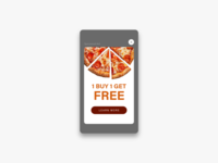 Daily UI Challenge #098 Advertisement
