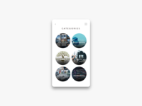 Daily UI Challenge #099 Categories