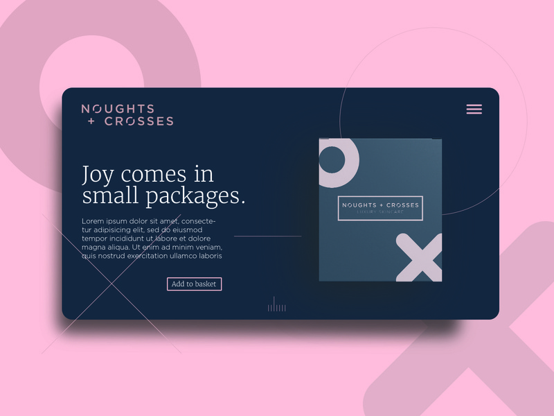 Noughts + Crosses Web Page