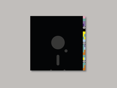 New Order - Blue Monday adobe illustrator record sleeve album artwork record vinyl music factory peter saville vector graphics design creative