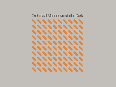 Orchestral Manoeuvres in the Dark designer freelance album cover music record sleeve album artwork graphic design adobe illustrator vector graphics design creative