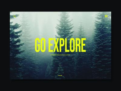 Exploration Apparel Web Page