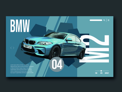 BMW Website Page