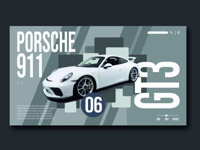 Porsche Website Page
