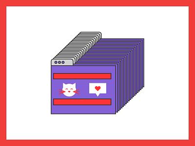 E-Commerce Benefit web internet browser ecommerce visual design brand mcstudio vector