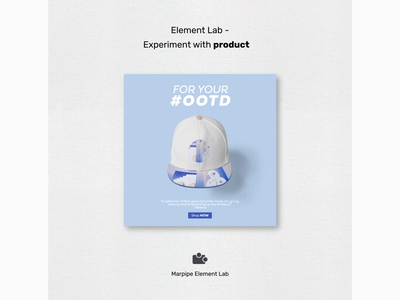 Element Lab - Experiment with product marpipe lab element ootd product creative test technology gradient 2d flat art design illustration