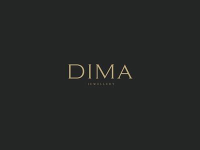 DIMA JEWELLERY identity jewellery shop jewellery store jewellery logo branding branding design